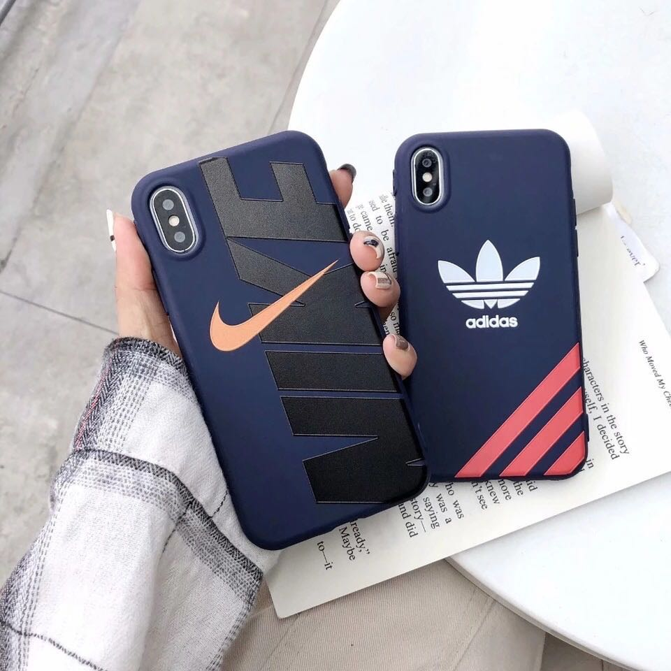 brand new 1d1c9 a6ff7 Nike Adidas Sports Brand Soft TPU Phone/Mobile Case/Cover