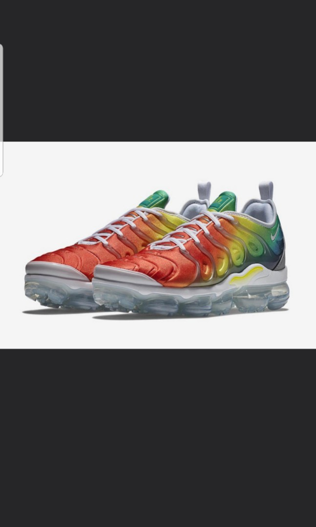 89383b878dc85 Nike air vapormax plus rainbow