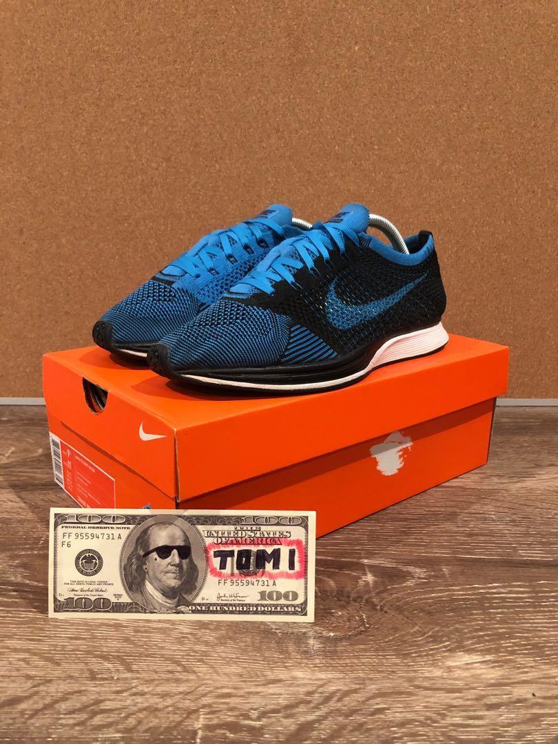 Nike Flyknit Racer Photo Blue