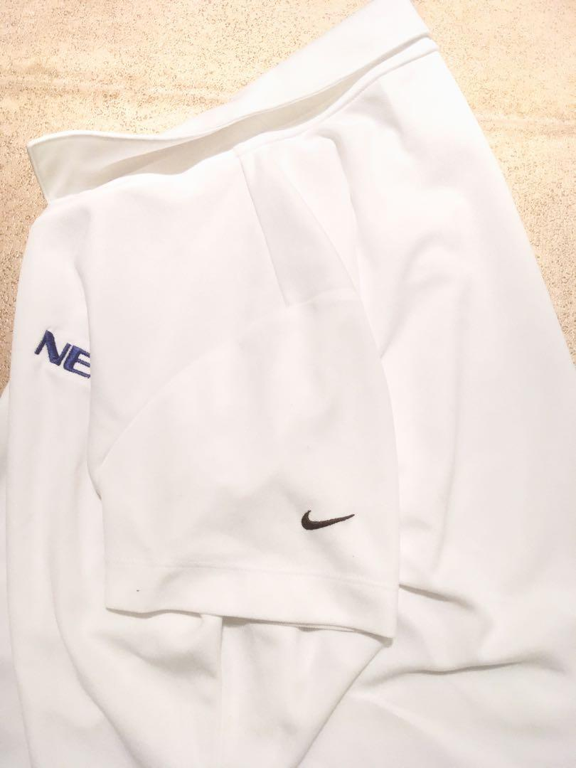 Nike Women's Golf Shirt White Size Small Exercise New