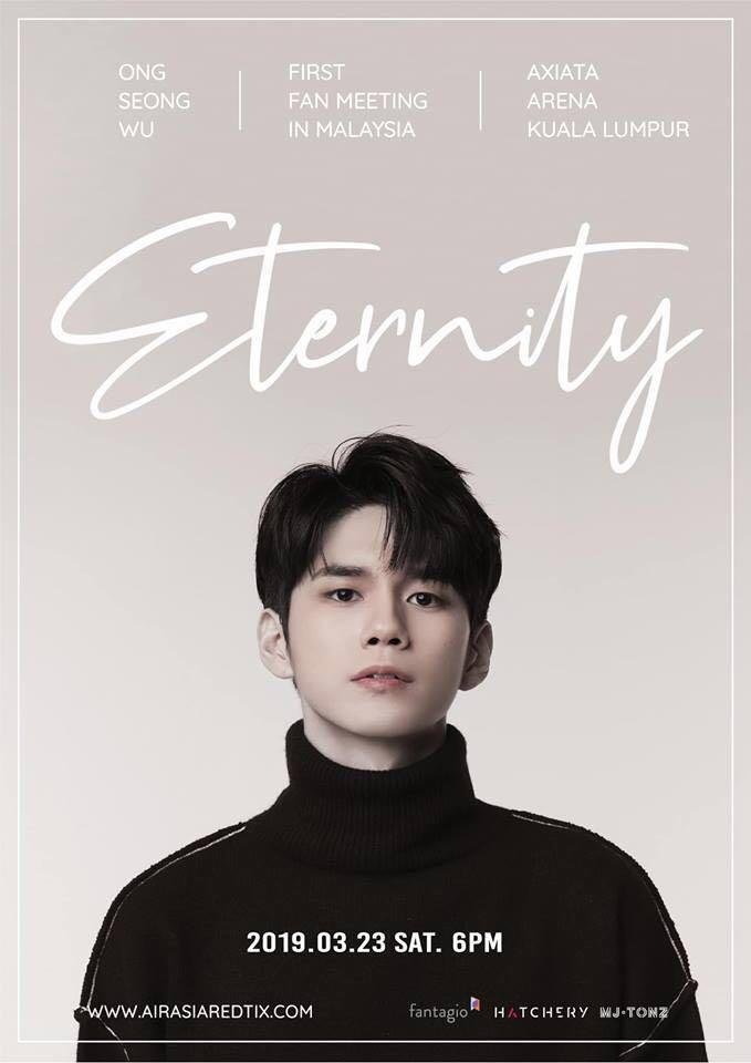 Ong Seong Wu @ KL fm ticket [Eternity] + FREE GIFTS!