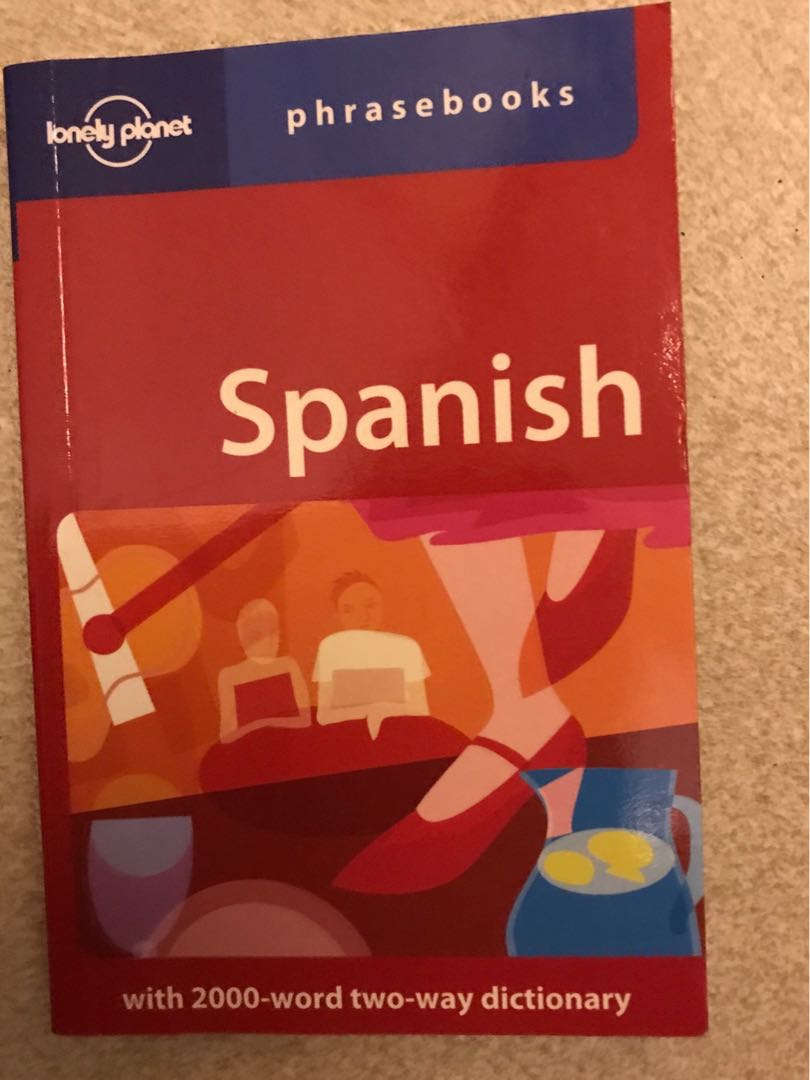 Pocket-Sized Spanish Lonely Planet Language Learning Phrase Book and  Dictionary *FREE TRACKED SHIPPING*
