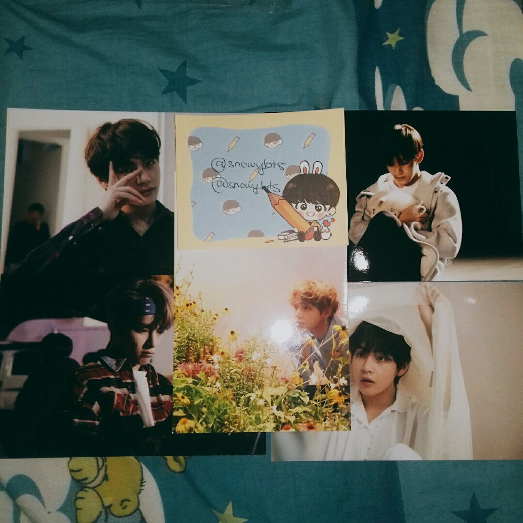 [PRICE REDUCED] BTS TAEHYUNG/V LIVE PHOTOD EXHIBITION SET