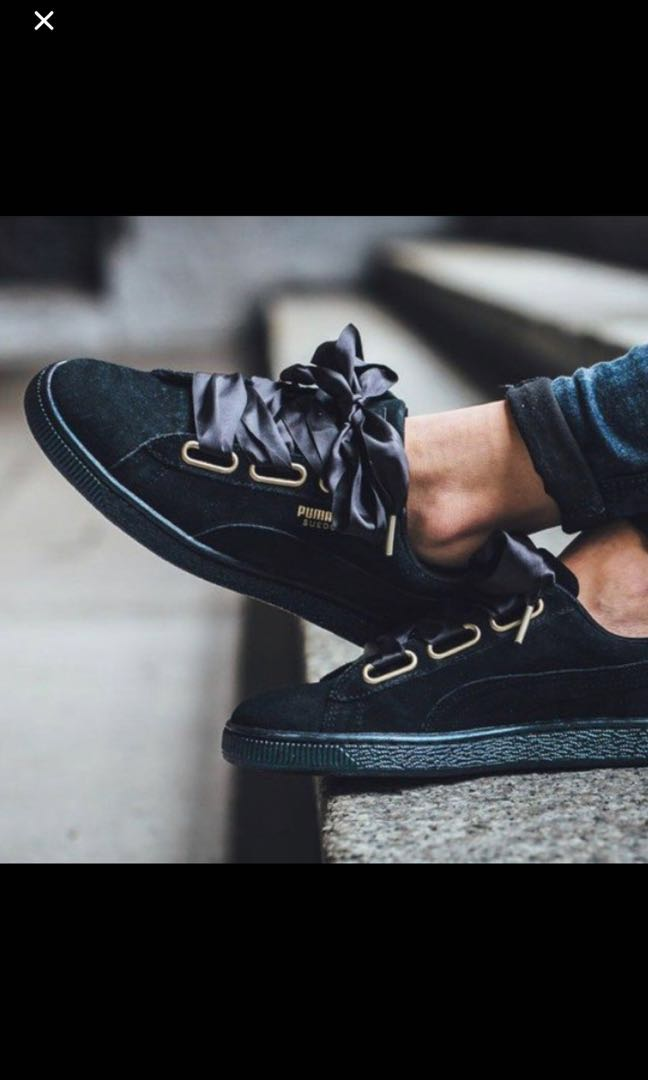 the latest a4014 d7f48 Puma Black Heart Suede