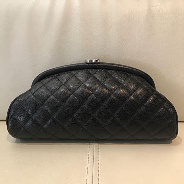 1455b3927284c4 RARE Chanel Timeless Clutch Caviar, Women's Fashion, Bags & Wallets ...