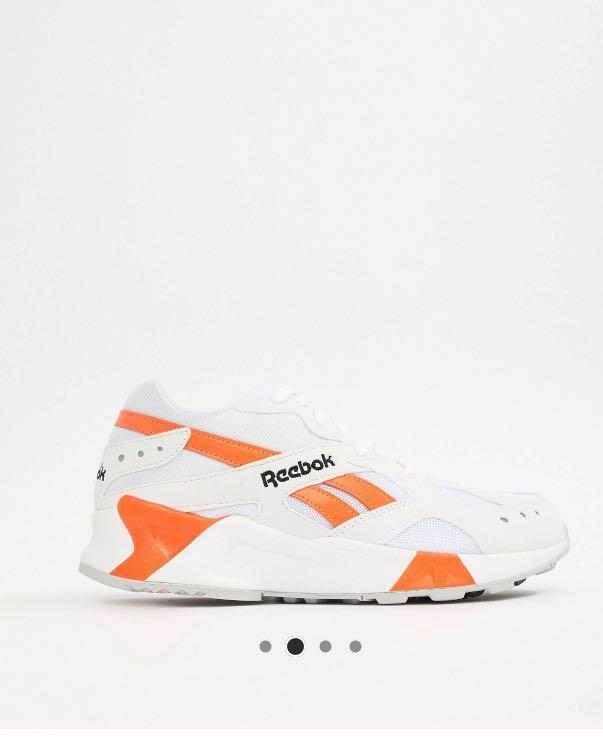Reebok aztrek 90s trainers in white