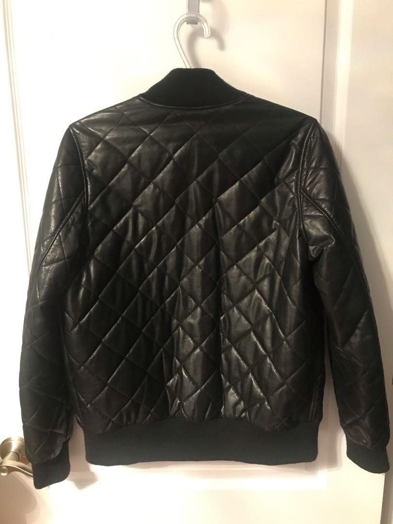 Roots Geniune Soft Leather Jacket- Size 10 but fits like a Medium