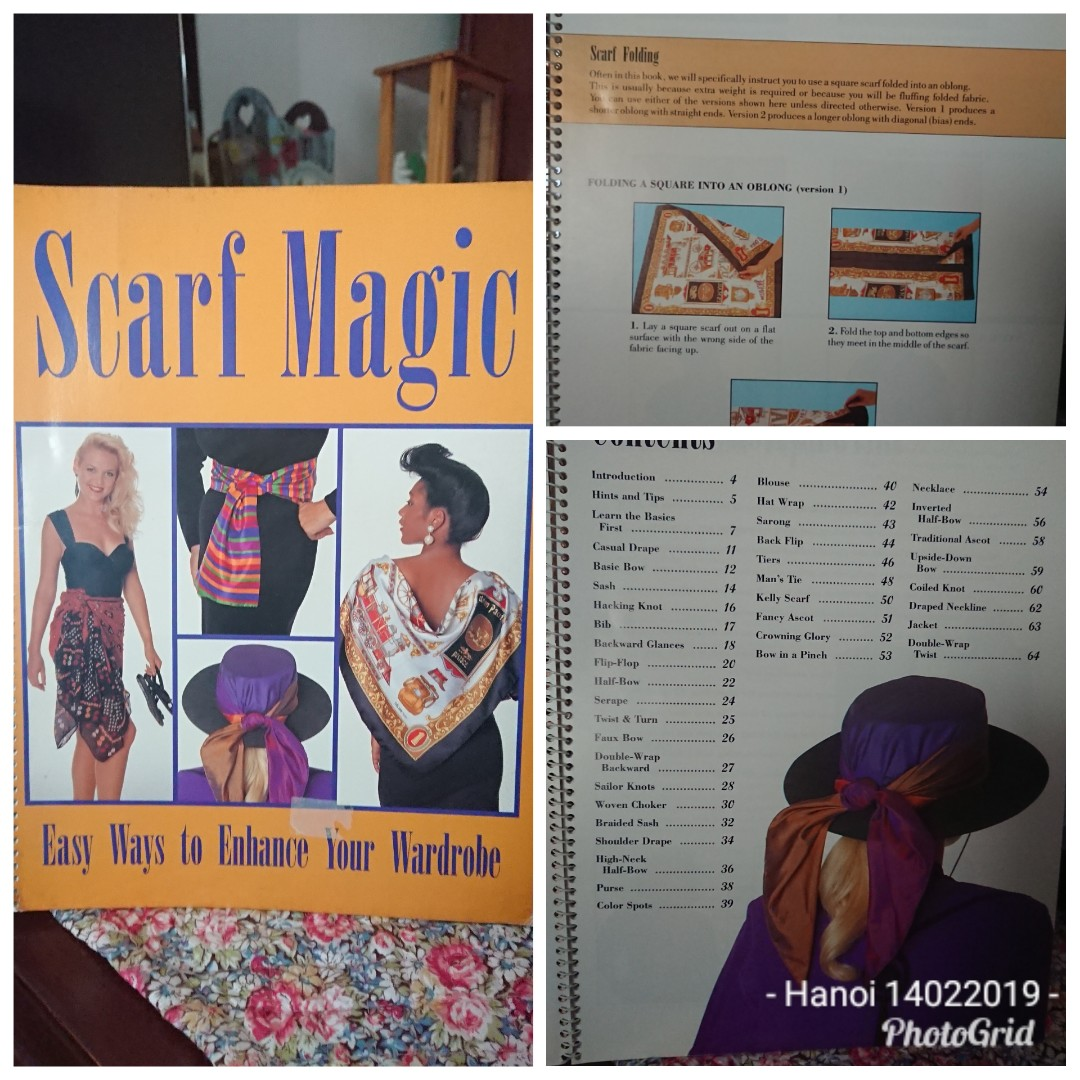 Scarf Magic Book (64 pages), Books & Stationery, Magazines