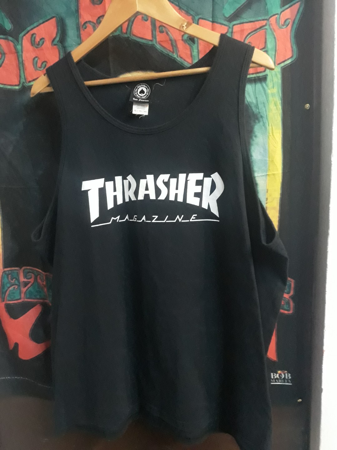 d322be4e21d1 Thrasher tank top, Men's Fashion, Clothes, Tops on Carousell
