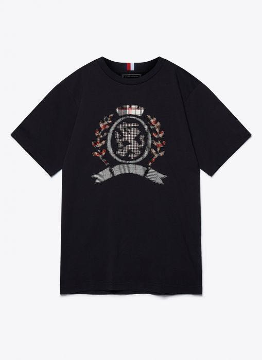 f4760797 Tommy Hilfiger Crest T Shirt, Men's Fashion, Clothes, Tops on Carousell