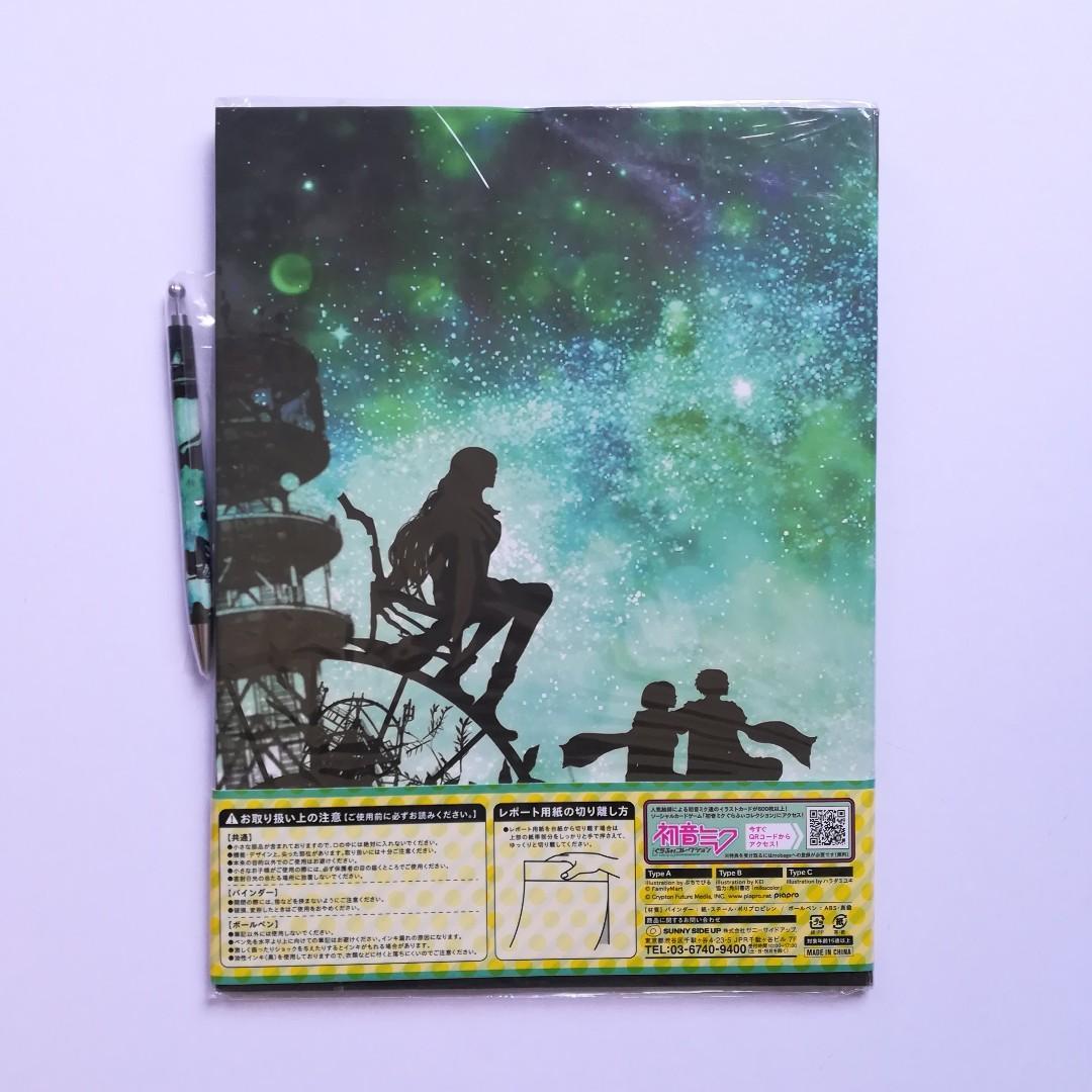 Vocaloid - Hatsune Miku, Kagamine Len, Kagamine Rin, Kaito, Megurine Luka, Meiko - Stationery Set