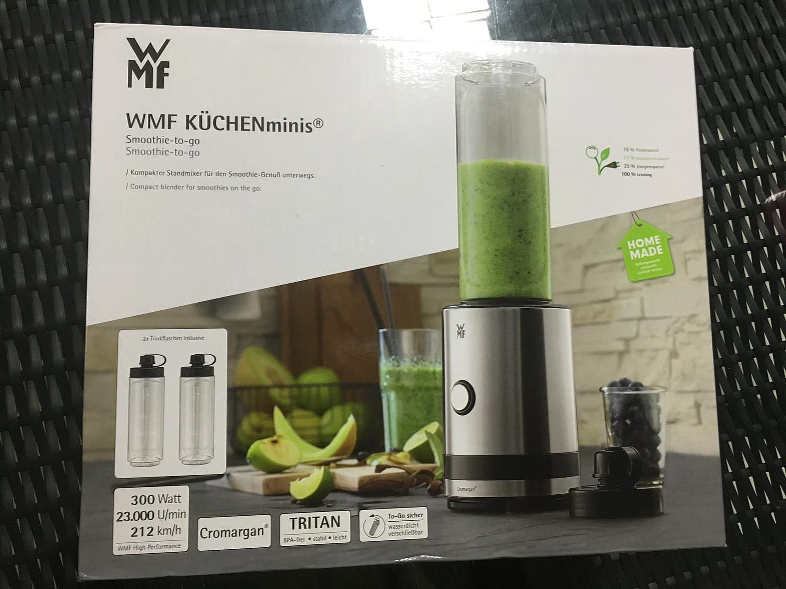 59234aa57 WMF Kitchenminis Smoothie-to-go, Home Appliances, Kitchenware on Carousell