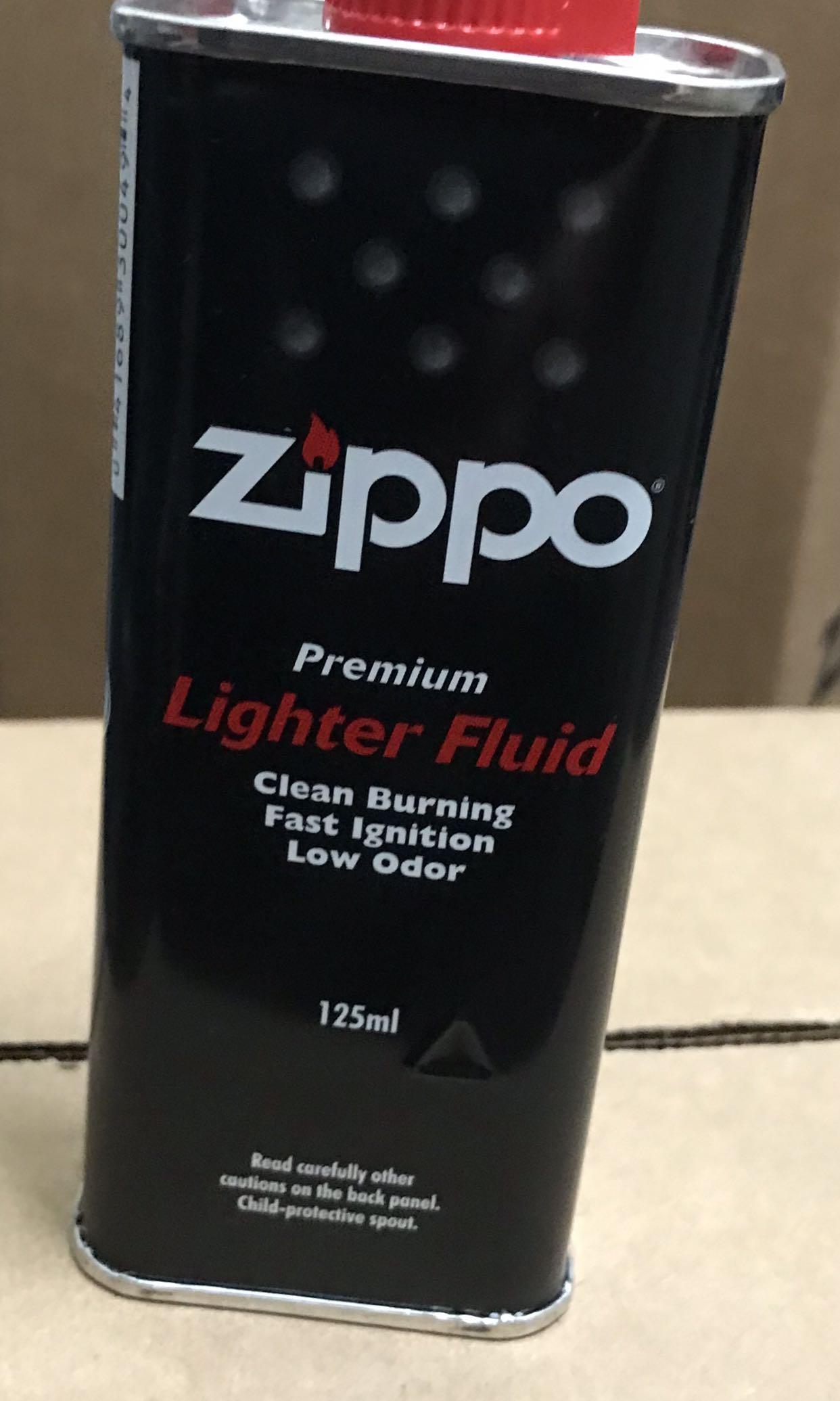 Zippo Lighter Fluid 125ml  Per / bottle .