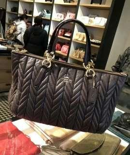 ALLY SATCHEL WITH QUILTING (COACH F31460)