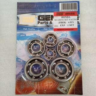 TCB HONDA EX5 HI-POWER BEARING RACING FIBER