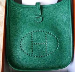 Hermes Evelyne mini 綠色