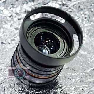 50mm f1.8 無反微單相機專用 大光圈人像鏡頭 NEX M4/3 FX EOSM Nikon1 PQ 接口 Fit