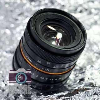 25mm f1.8 無反相機專用 廣角微距鏡頭 NEX M4/3 FX 接口 (Mirrorless DC Fit Wide Prime Manual Lens)