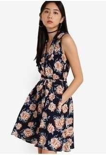 Zalora Love Fit & Flare Blazer Dress