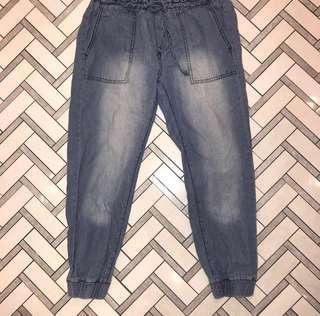 acid wash cargo jeans