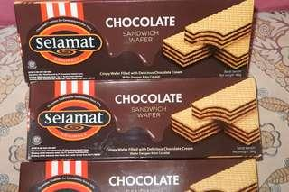 Wafer Coklat Selamat