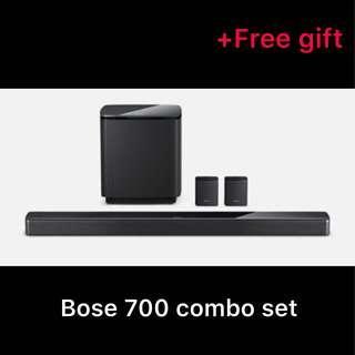 🚚 Bose soundbar 700 combo set