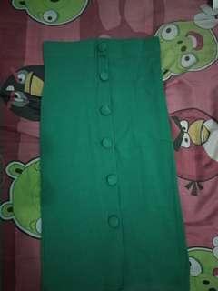 Green pencil skirt J-Rep