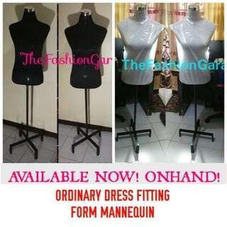 Mannequins Fitting Form Black Metal Stand
