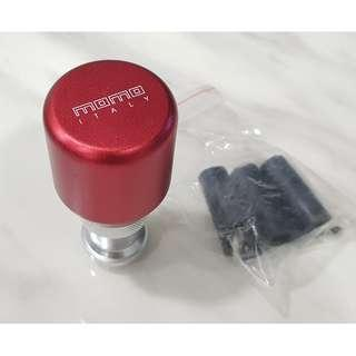 Candy Red Momo Italy Gear knob