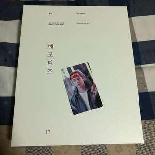 BTS Memories of 2017 With V Photocard