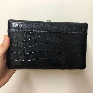 Leather Long Purse Wallet 皮長銀包