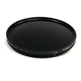 Variable ND Filter For Camera Lens (All Sizes In Stock - From $35 onwards