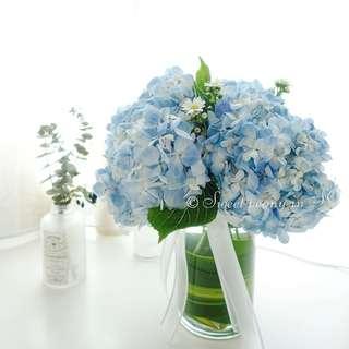 Customized own flower/bouquet/centerpiece/hydrangea/tulips/roses