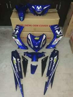 COVERSET YAMAHA LC135 V1 FIRST MODEL MOVISTAR 2018