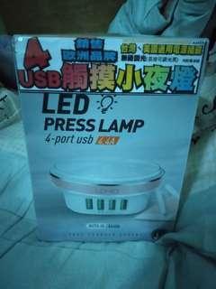 🚚 USB觸摸式LED小夜燈