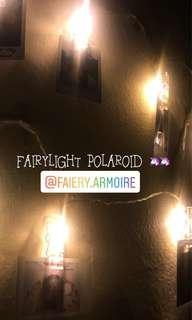 Fairylight polaroid