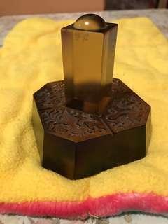 台灣品牌tittot 琉園水晶博物館 158/1888琉璃藝術品 2003年全台第一家掛牌上櫃 紀念價值 擺設 裝飾品