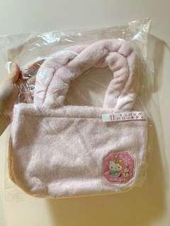 Sanrio 一番賞 hello kitty 毛毛袋