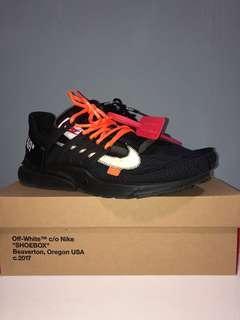 Off White Nike Presto Black