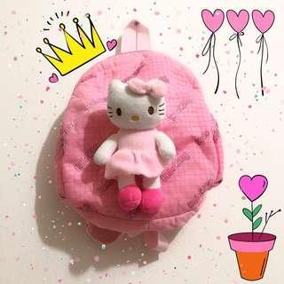 Tas Hello Kitty Anak BONUS Kalung Anak