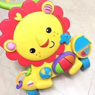 Fisherprice activity lion walker