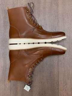 COLE HAAN LUNARGRAND LACE BOOT Water Proof US11 M Woodbury