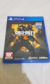 Call of Duty Black Ops 4 Special Edition Kaset Bluray BD Game Playstation 4 PS4