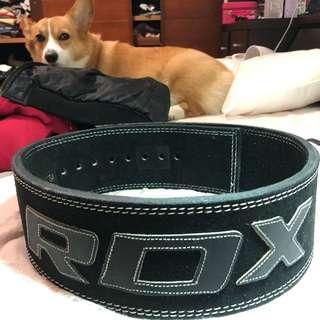 RDX 英國 金屬快扣式牛皮健身腰帶 9.5成新