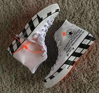 (In Stock) US 7.5 8 10 Off White x Converse Chuck Taylor All Star 70s