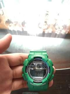 ✅Authentic Casio G-Shock Light Green 120TS-3