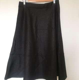 H&M A Line Midi Skirt