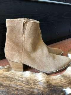 Coconuts Tan Suede Chelsea Boots Size 8.5