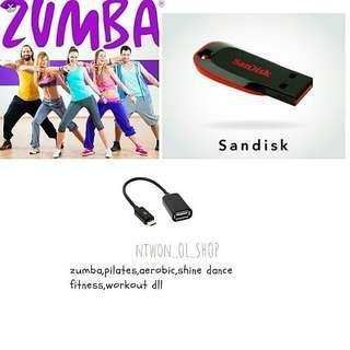 Flashdisk 8 GB Senam Zumba