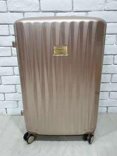 Samsonite black label plutus luggage lvory gold spinner